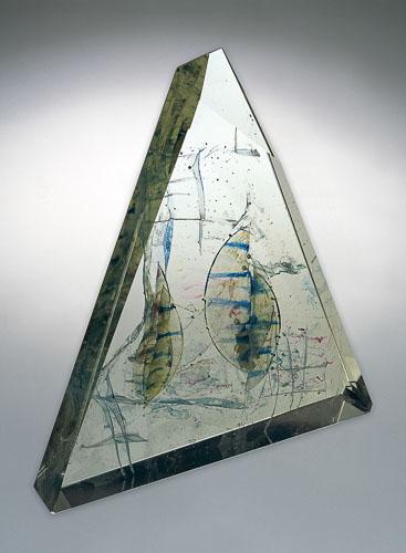Život v Červenom mori, r. 2004, 49 x 47 x 12 cm
