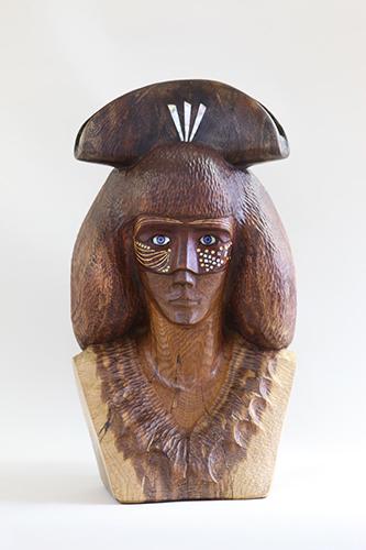 Benátčanka v klobúku, r. 2014-5, 62 x 35 x 31 cm (2)