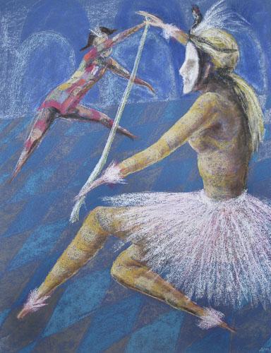Benátsky karneval IV., 2011, 65 x 50 cm