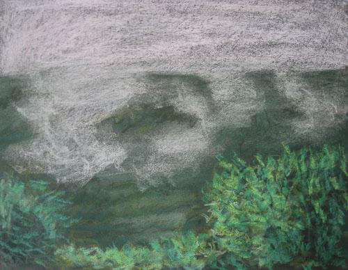 Drieňovské impresie, 2011, 50 x 65 cm