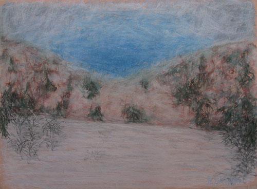 Impresia Suchého vrchu, 2009, 45 x 61 cm