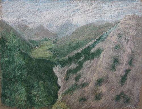 K Šárniczu, 2011, 50 x 65 cm