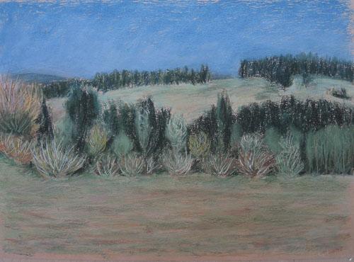 Na Suchom vrchu, 2009, 50 x 65 cm