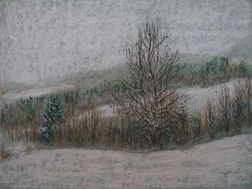 Nad Kalváriou, 2011, 50 x 65 cm