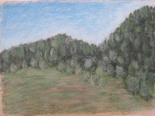 Pod Suchým vrchom, 2009, 50 x 65 cm
