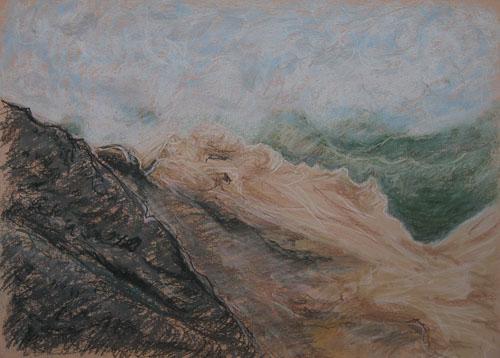 V Dolomitoch, 2010, 45 x 61 cm