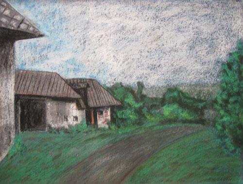 V Drieňove, 2011, 50 x 65 cm