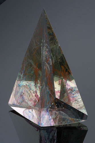 Vesmírna regata XVIII, r. 2003, 34 x 24 x 11 cm-2