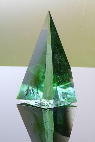 Vesmírna regata v zelenom, r. 2008, 36,5 x 24 x 12,5 cm