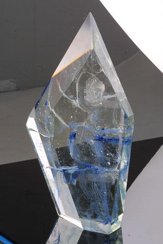 Vesmírny koráb II., r. 2000, 47 x 29 x 9 cm