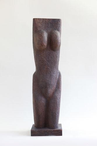 Zúfalstvo, drevo dub, r. 2014, 86 x 19 x 17 cm