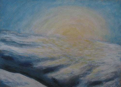 Zimou nad Ľubochňou, 2011, 50 x 65 cm